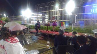 マジシャン派遣 出張 デパートの屋上でマジックショー マジシャン南海子