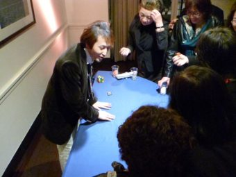 お台場ホテルにてカジノイベントマジシャン派遣ジュンヤ