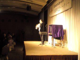周年記念式典でマジシャン派遣 バードマン出演