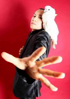 マジシャン派遣・出張 アニマルマジックマスター バードマン 出演実績 サントリーBOSSのCMでトミーリージョンズにマジック演技指導