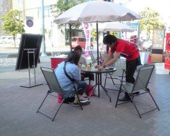 埼玉県パチンコ店でマジシャン派遣、出張 マジシャンKOJI!テーブルマジック
