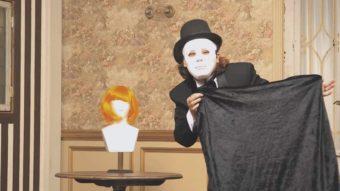 NHKワールドプロモーションムービーでマジシャンジュンヤが企画演出