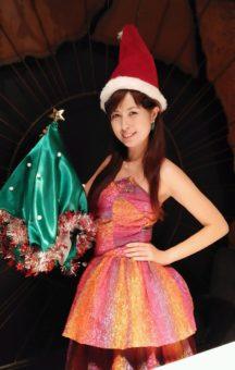 南海子衣装クリスマスバージョン