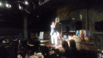 マジシャン派遣 ホテルニューオータニ幕張レストランガンシップにて出張、ステージマジックショー