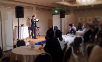 MIYAMO マジシャン企業2次会でステージショー